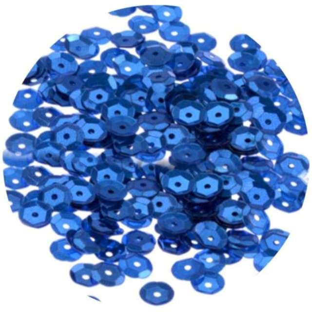 Cekiny Classic Matowe niebieskie 8 mm Brewis 10 g