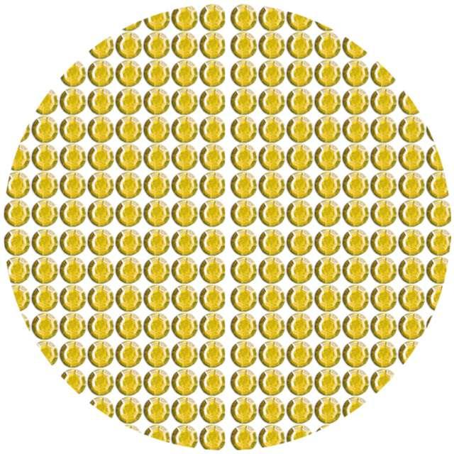 """Dżety samoprzylepne """"Kryształki 3D 6mm"""", złote, Brewis"""