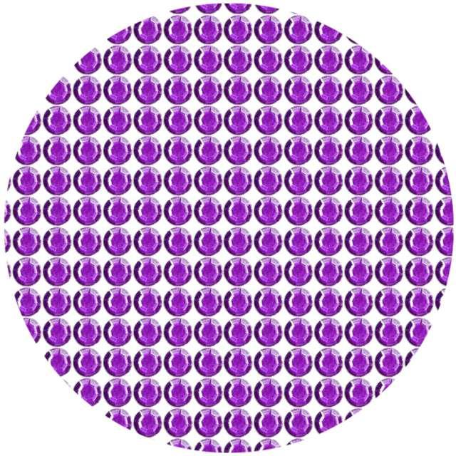"""Dżety samoprzylepne """"Kryształki 3D 6mm"""", fioletowe, Brewis"""