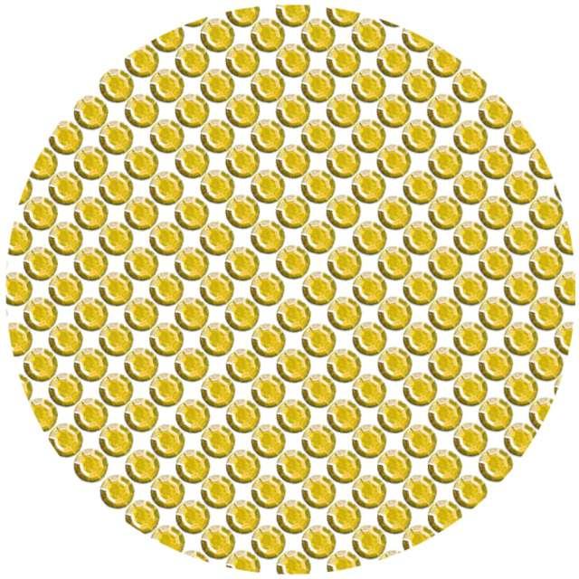 """Dżety samoprzylepne """"Kryształki 3D 8mm"""", złote, Brewis"""