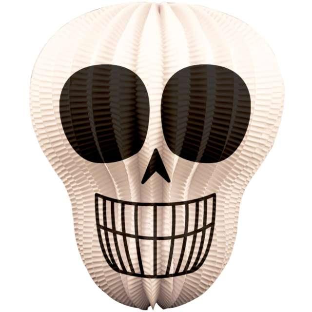 Lampion papierowy Trupia czaszka biała Folat 22 cm