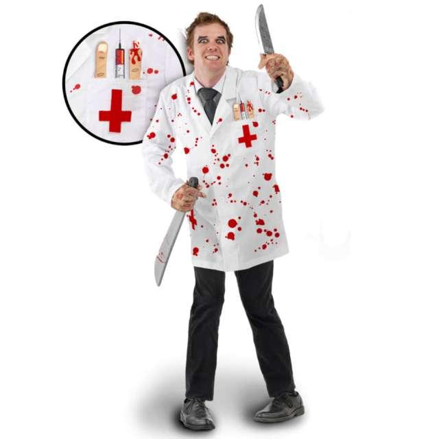 Strój dla dorosłych Morderczy Lekarz biały Folat
