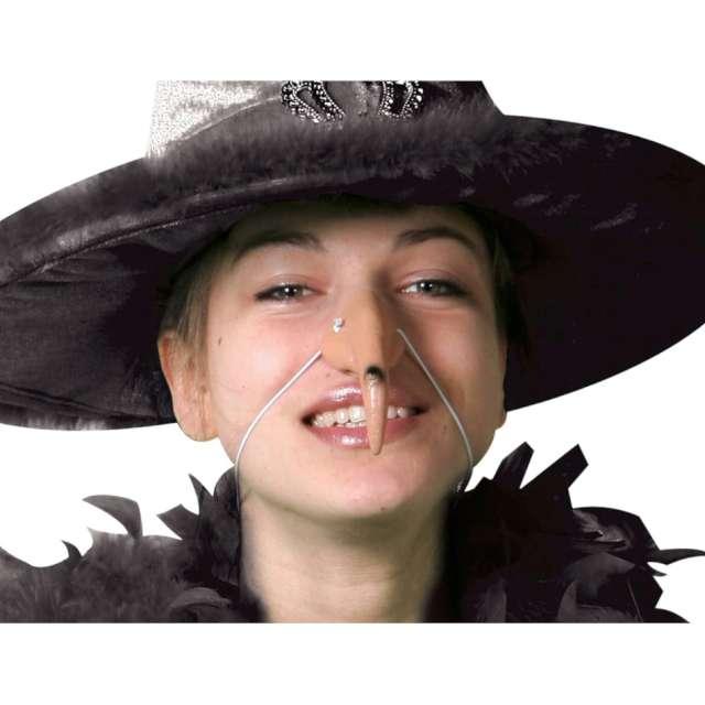 Nos Wielka brodawka Czarownicy ecru Folat
