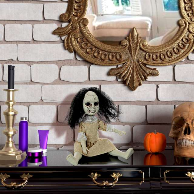 Dekoracja Przerażająca lalka Widmann