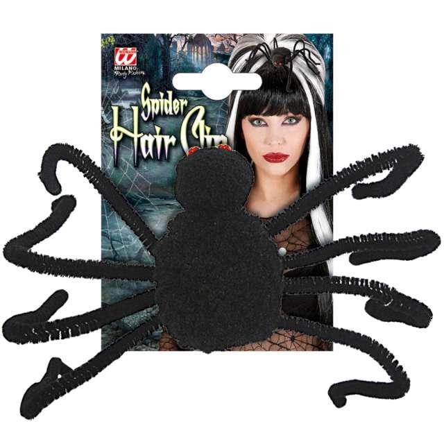 Spinka do włosów Tarantula czarna Widmann