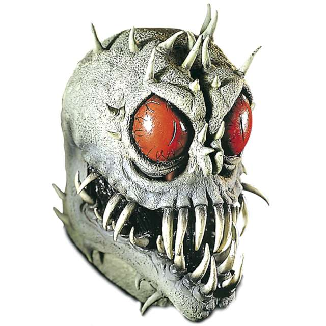 Maska Obcy Najeźdźca szara lateksowa Widmann