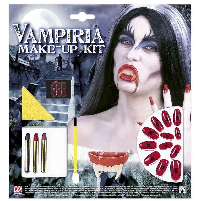 _xx_Pk 6 VAMPIRIA MAKE-UP SET WITH ACCESSORIES