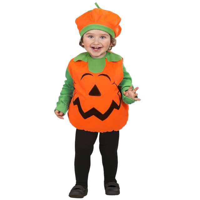 Strój dla dzieci Halloweenowa Dynia pomaraczowo - zielony Widmann 2-3 lata