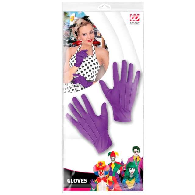 Rękawiczki Joker fioletowe Widmann uniw.