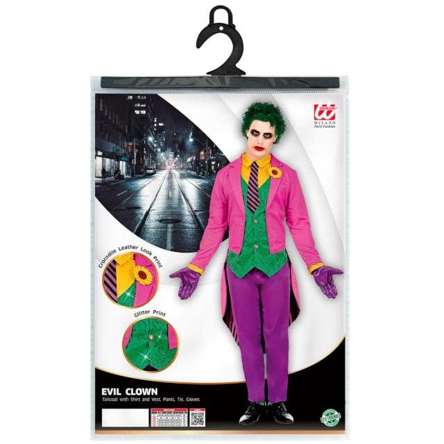 Strój dla dorosłych Joker mistrz zbrodni Widmann rozm. XL