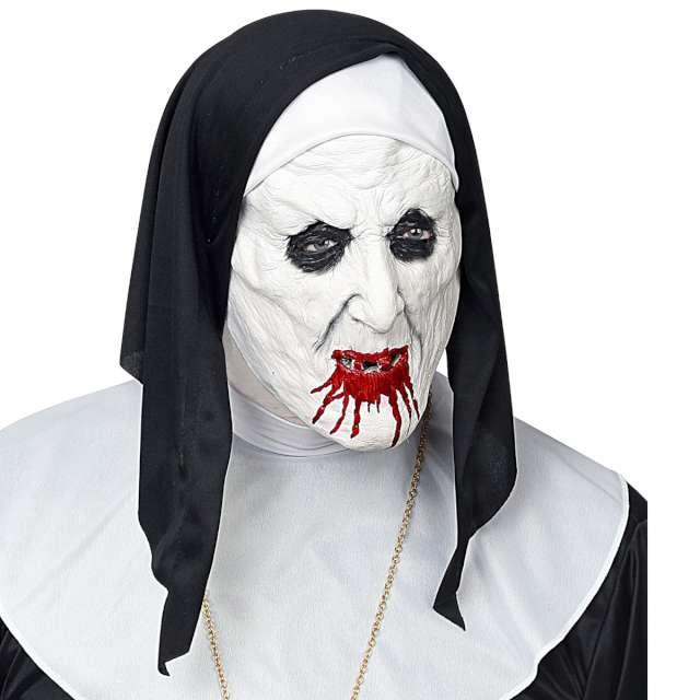 Maska Krwawa zakonnica lateksowa Widmann