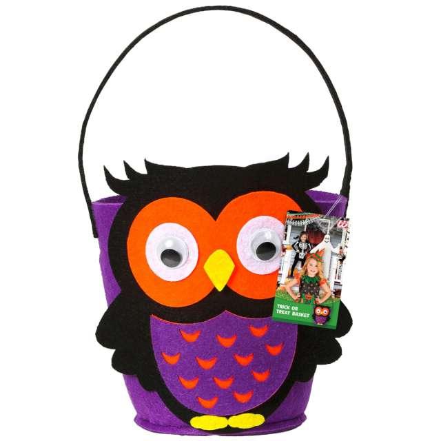 _xx_Pk 6 OWL TRICK OR TREAT BASKET