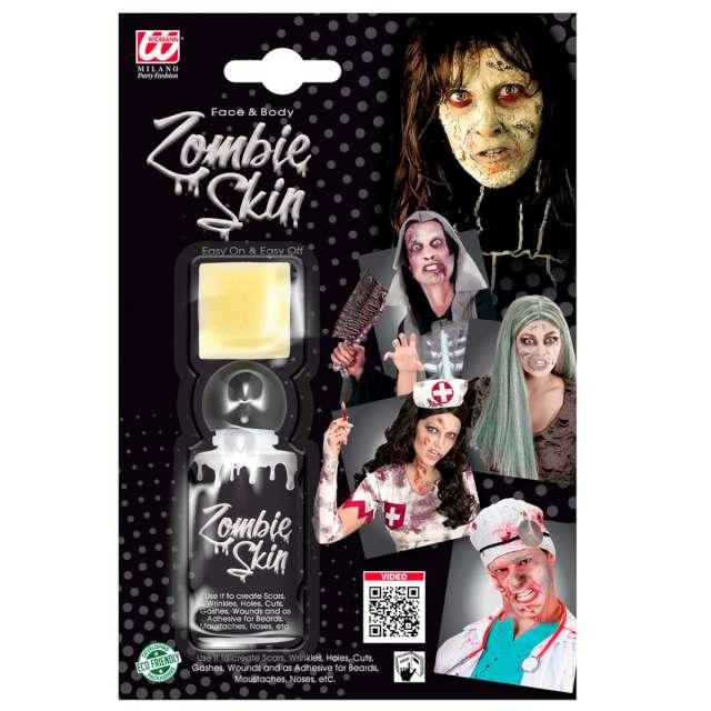 Make-up party Latex skóra zombie biały Widmann 28 ml