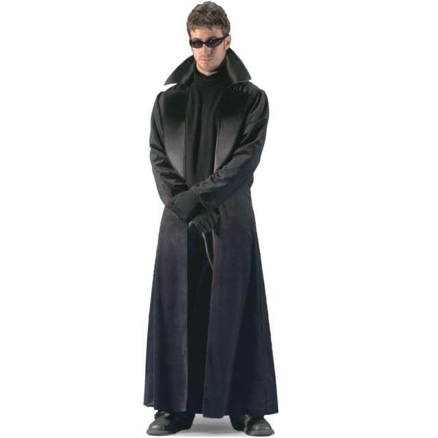 """Strój dla dorosłych """"Płaszcz Neo - Matrix"""", czarny, Carnival Toys, rozm. XL"""