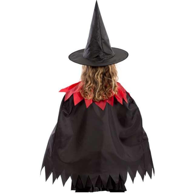 Strój dla dzieci Peleryna czarownicy czarny Carnival Toys rozm. 4-9 lat