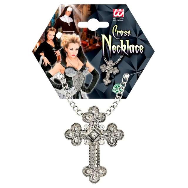 Naszyjnik Gotycki krzyż Widmann