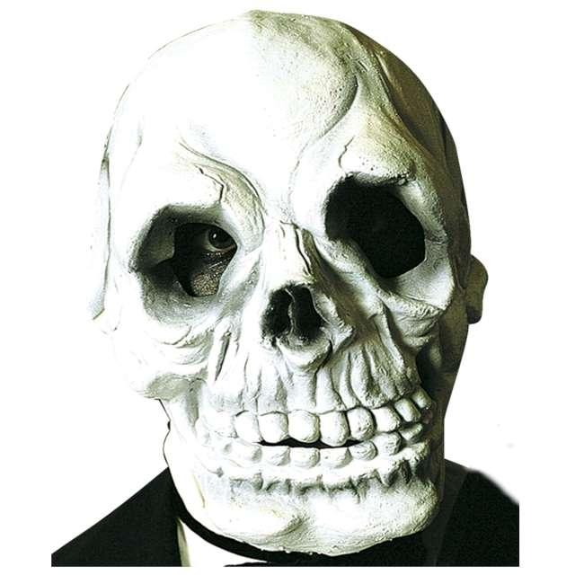 Maska Czaszka Deluxe lateksowa Widmann