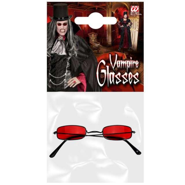 Okulary party Wampir czerwone Widmann