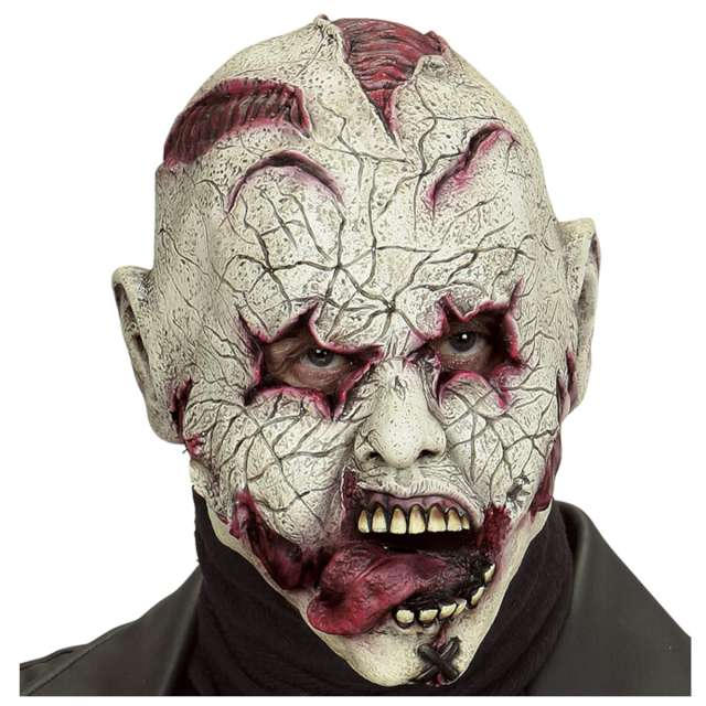 Maska Wściekły zombie lateksowa Widmann