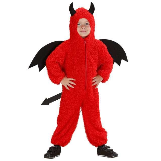 _xx_Pk 6 FUZZY DEVIL (hooded jumpsuit) 104cm