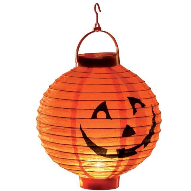 """Lampion """"Świecąca dynia"""", led, pomarańczowy, Carnival Toys"""