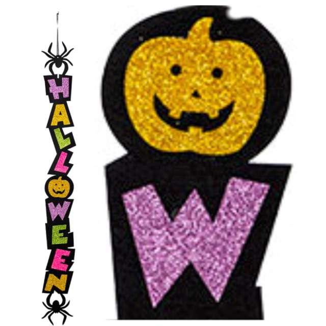 Girlanda Happy Halloween z pająkami mix Carnival Toys 100 cm