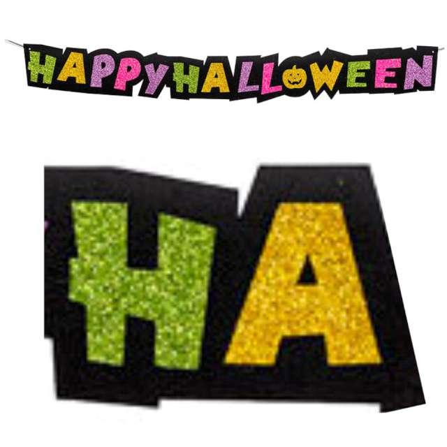 """Girlanda """"Happy Halloween z dynią"""", mix, Carnival Toys, 100 cm"""