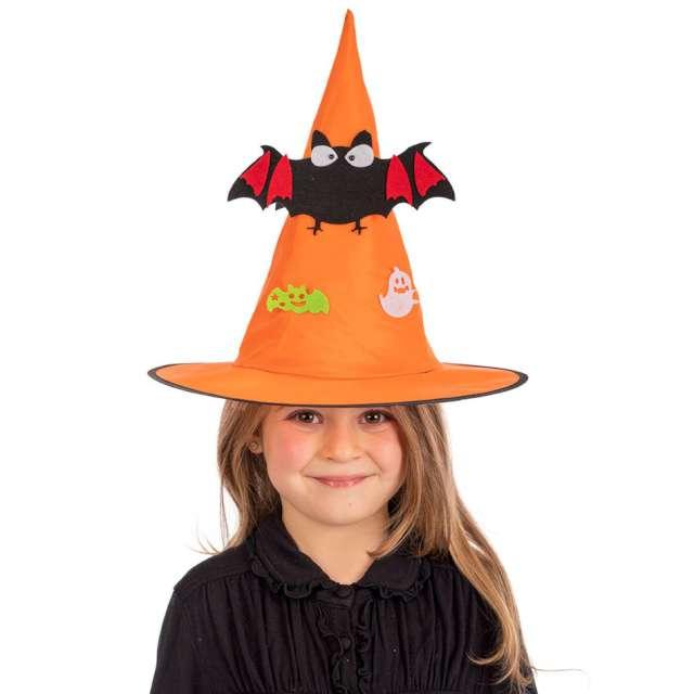 Kapelusz Czarownica pomarańczowy Carnival Toys