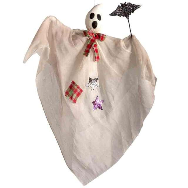 """Dekoracja """"Duch z Nietoperzem"""", biały, Carnival Toys, 90 cm"""