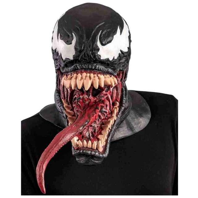 """Maska """"Potwór z jęzorem - Venom"""", lateksowa, Carnival Toys"""