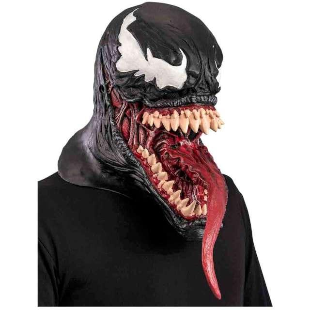 Maska Potwór z jęzorem - Venom lateksowa Carnival Toys
