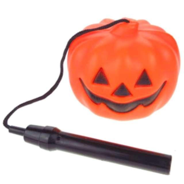 Dekoracja lampion Halloween - Dynia LED pomarańczowa 7&7
