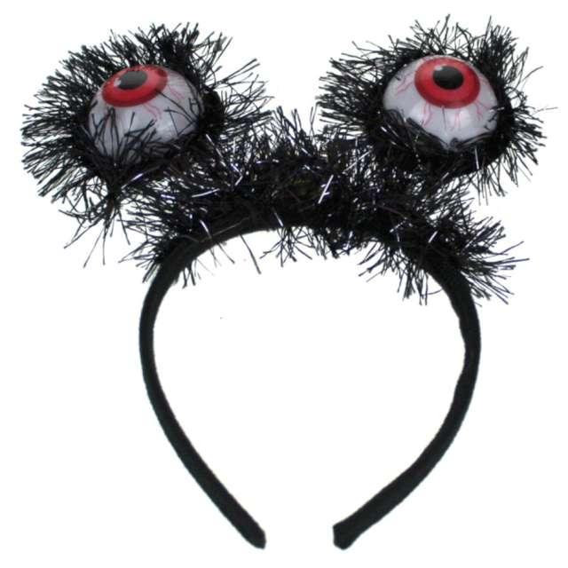 """Opaska party """"Włochate Oczy Potwora LED"""", czarne, 7&7"""