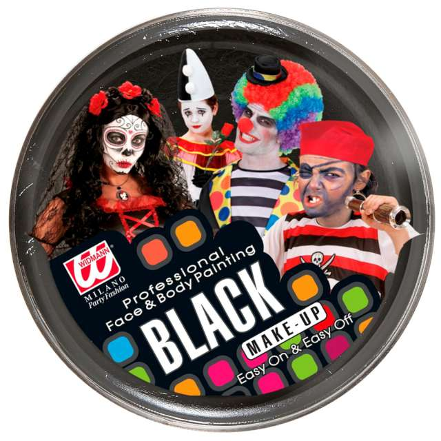 _xx_Pk 6 BLACK MAKE-UP IN TRAY - 25 g