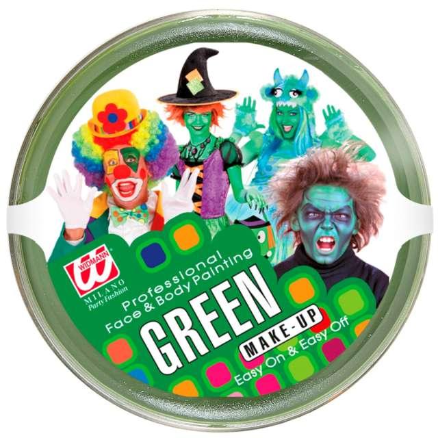 """Make-up party """"Farbka do Makijażu"""", zielona, Widmann, 25 g"""