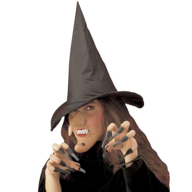 Make-up party Nos broda kapelusz kły paznokcie mix Widmann