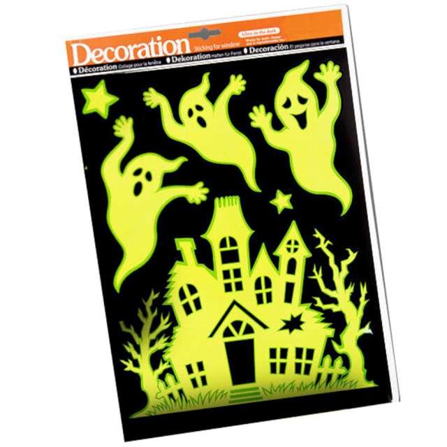 Naklejki fluorescencyjne Halloween - Duchy na zamku Carnival Toys