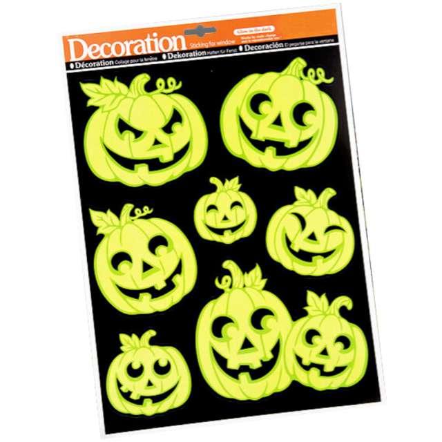 Naklejki fluorescencyjne Halloween - Dynie Carnival Toys