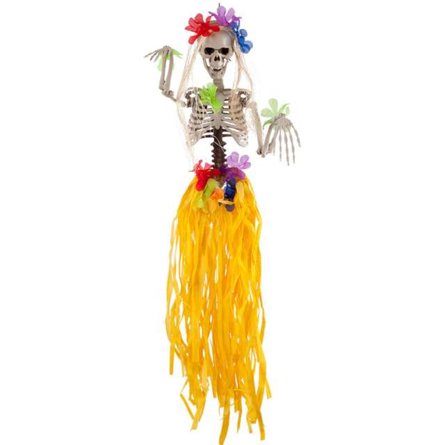"""Dekoracja """"Hawajski Szkielet"""", Carnival Toys, 90 cm"""