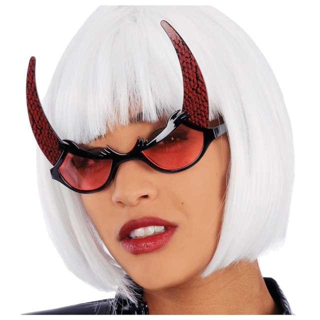 Okulary party Rogi diablicy czerwone Carnival Toys