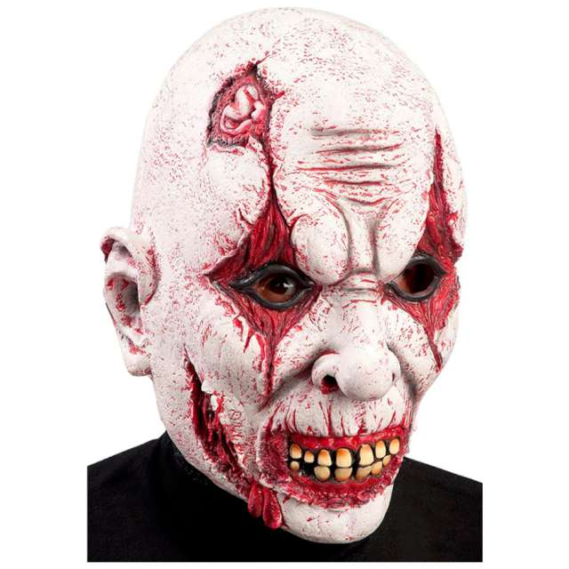 "Maska ""Zmasakrowany Klaun"", lateks, Carnival Toys"