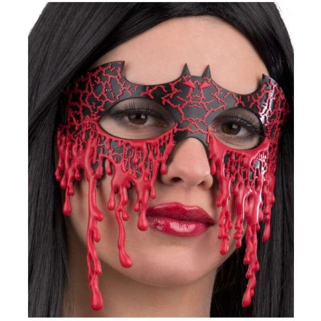 """Maska """"Krwawy Nietoperz"""", Carnival Toys, roz. uniw."""