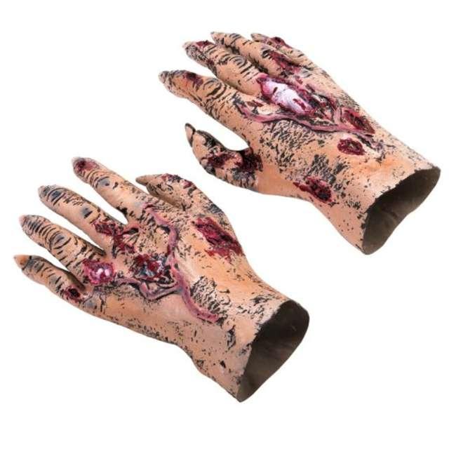 """Rękawiczki """"Rany - Zombie"""", Carnival Toys"""