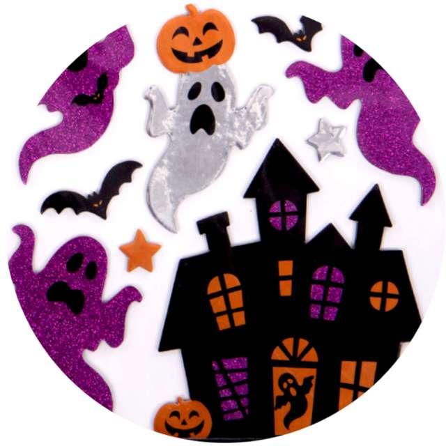 """Naklejki metaliczne """"Halloween - Duchy na zamku"""", mix, Carnival Toys"""
