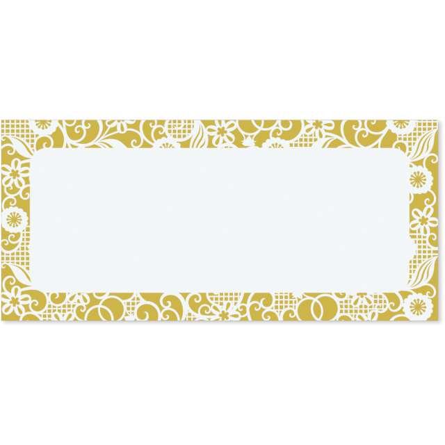 Koperta prezentowa na banknoty Złote Kwiaty Paw