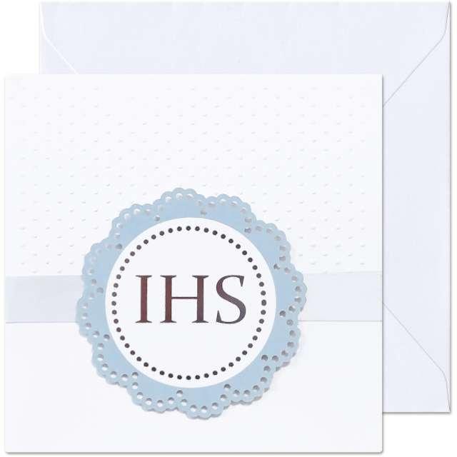 _xx_kartka IHS rozeta niebieska 154 cm