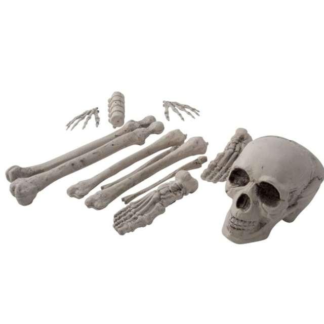 """Dekoracja """"Ludzkie kości"""", białe, Carnival Toys, 12 szt"""