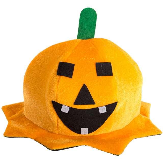 """Czapka """"Uśmiechnięta dynia"""", pomarańczowa, Carnival Toys"""