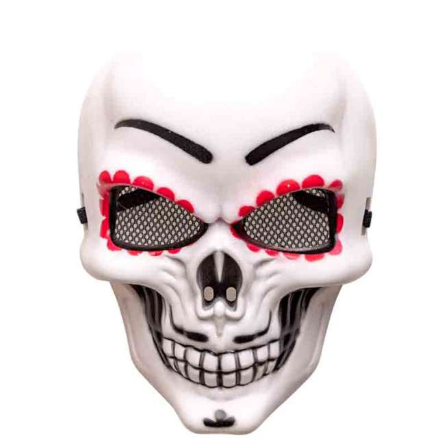 "Maska ""Meksykańska śmierć"", plastikowa, Carnival Toys"