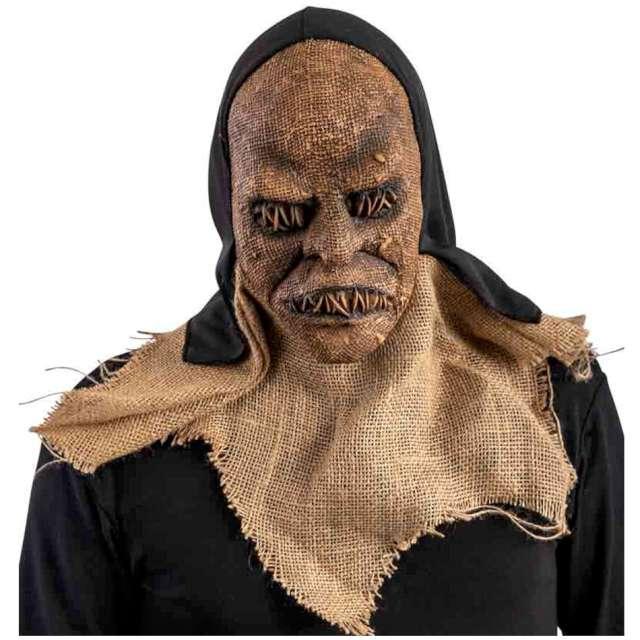 """Maska """"Potwór zaszyta twarz """", jutowa, Carnival Toys"""